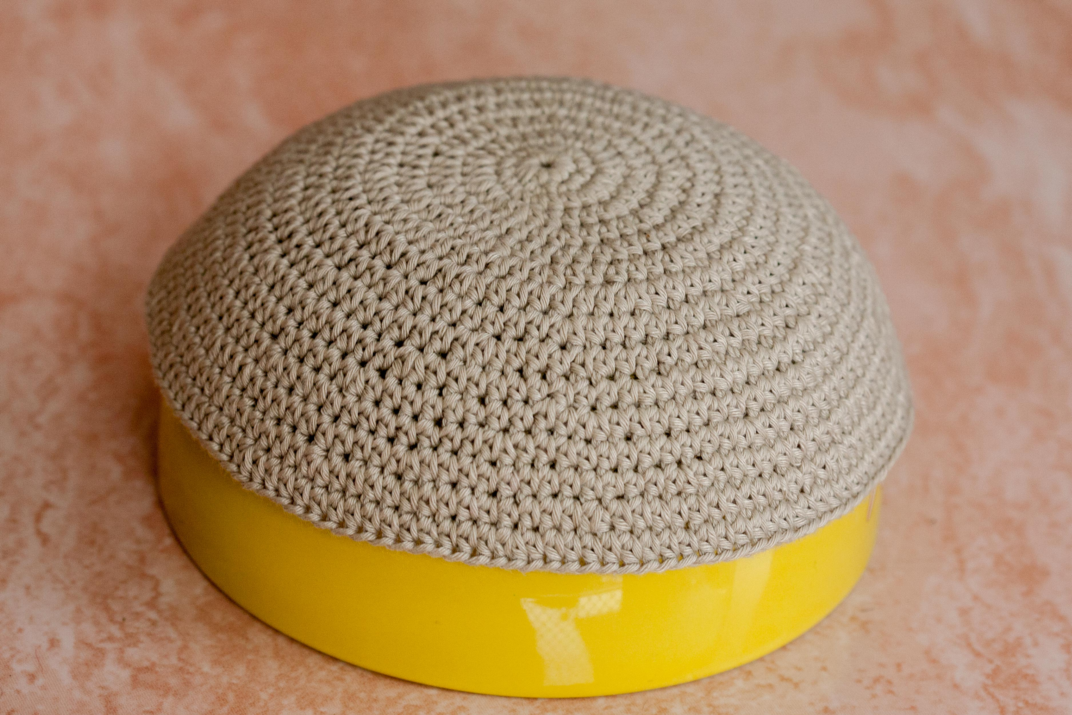 How to Crochet a Kippah | Our Pastimes