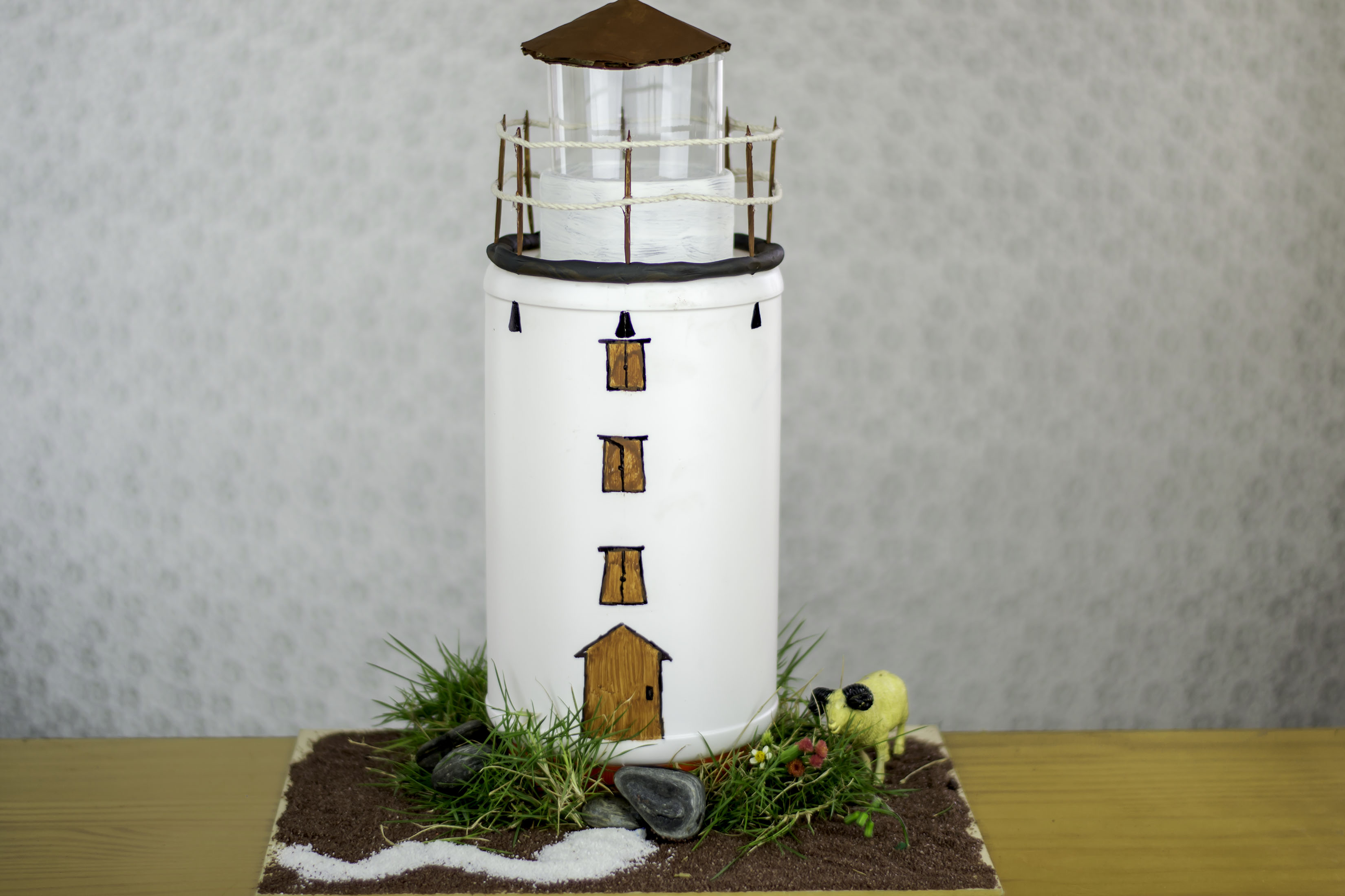 How To Build A Model Lighthouse For School Project Synonym Make Electric Circuit