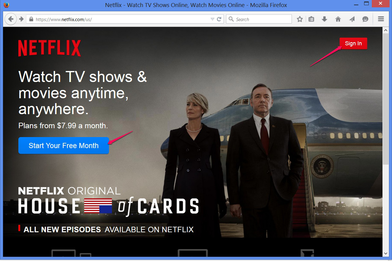 Changing the Language Subtitles on Netflix Instant Streaming