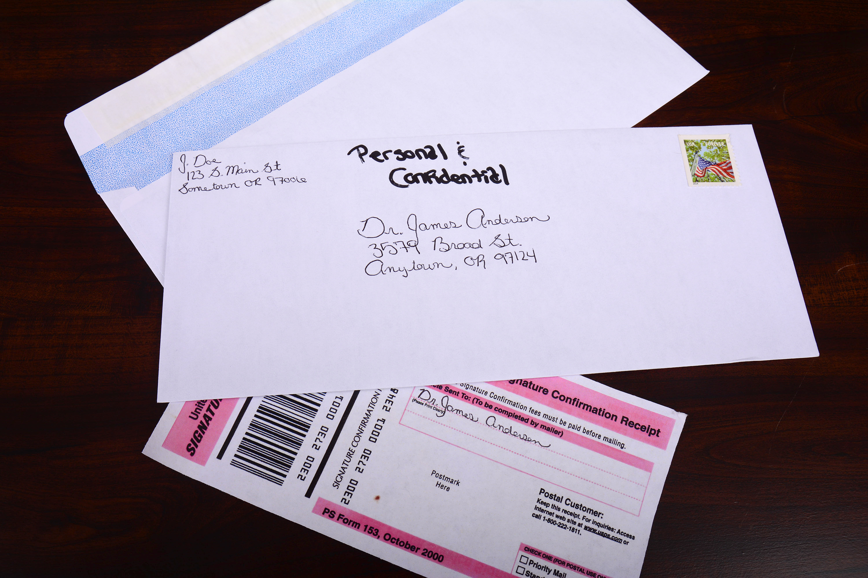 How To Address An Envelope For Private  Synonym