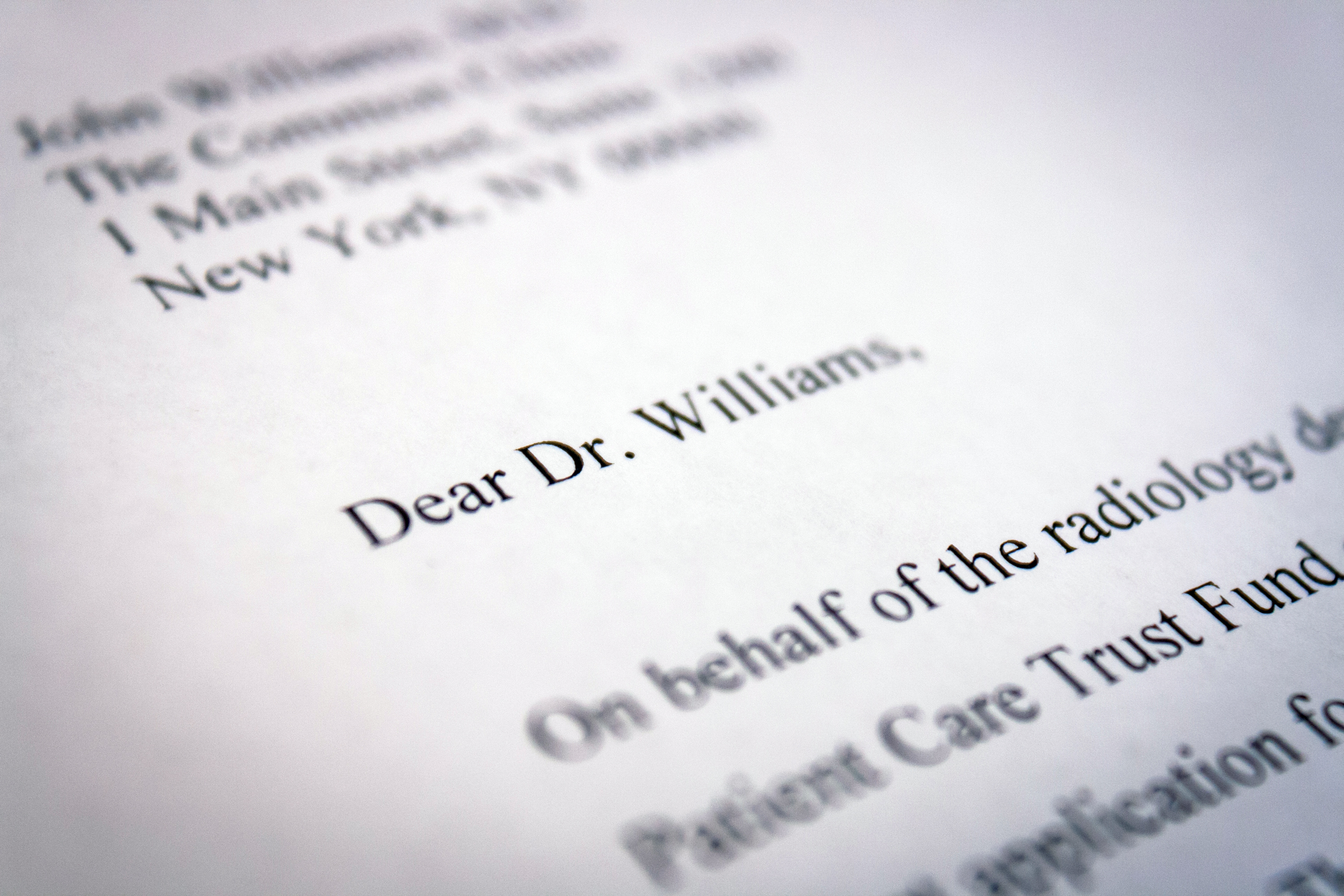 doctors letter how to address a letter to a doctor our everyday 10588