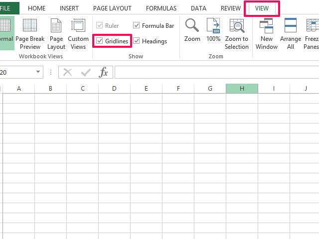 Drawing Lines Through Cells Excel : How to remove grid lines in excel techwalla