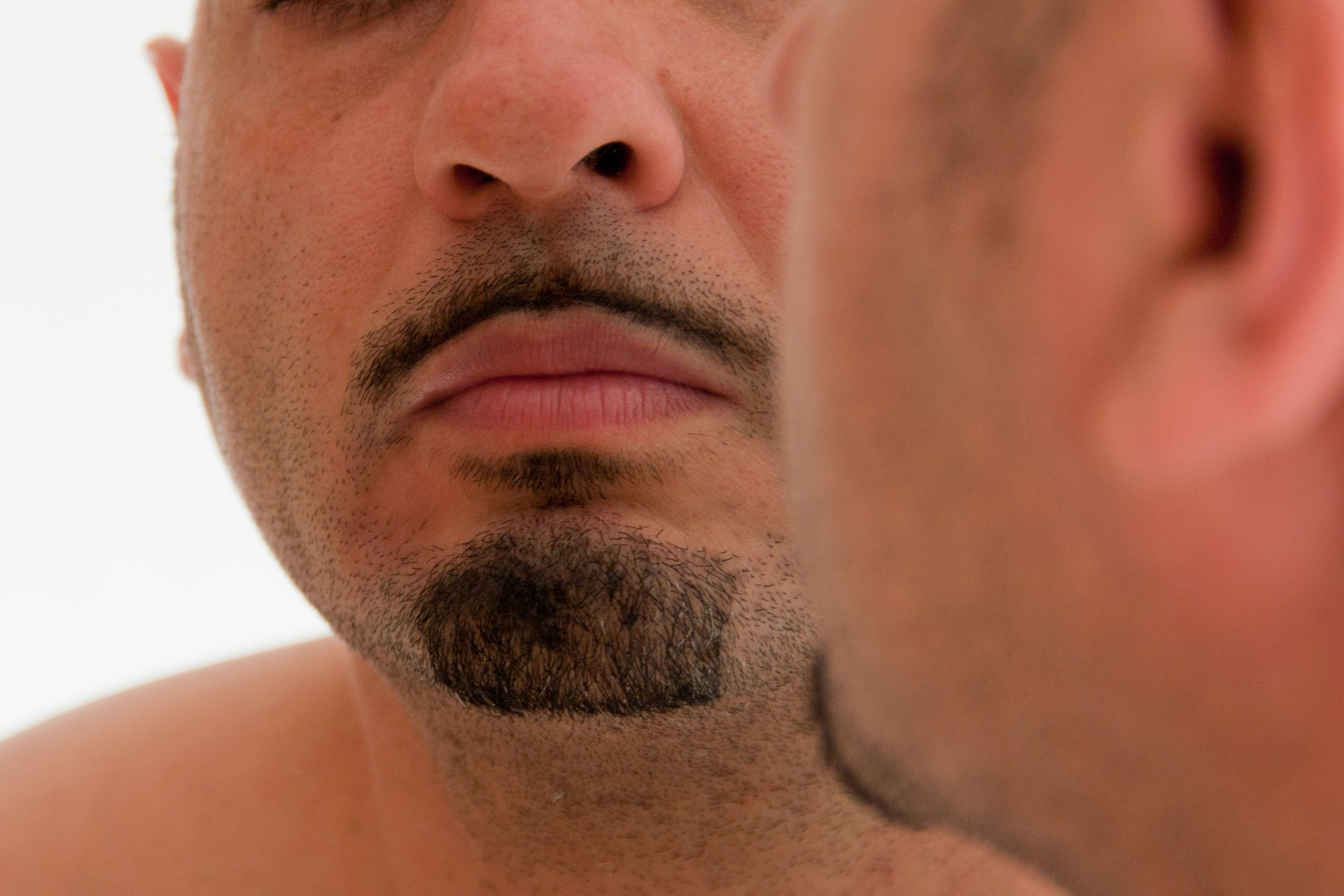 How to Make a Mustache Shadow Go Away