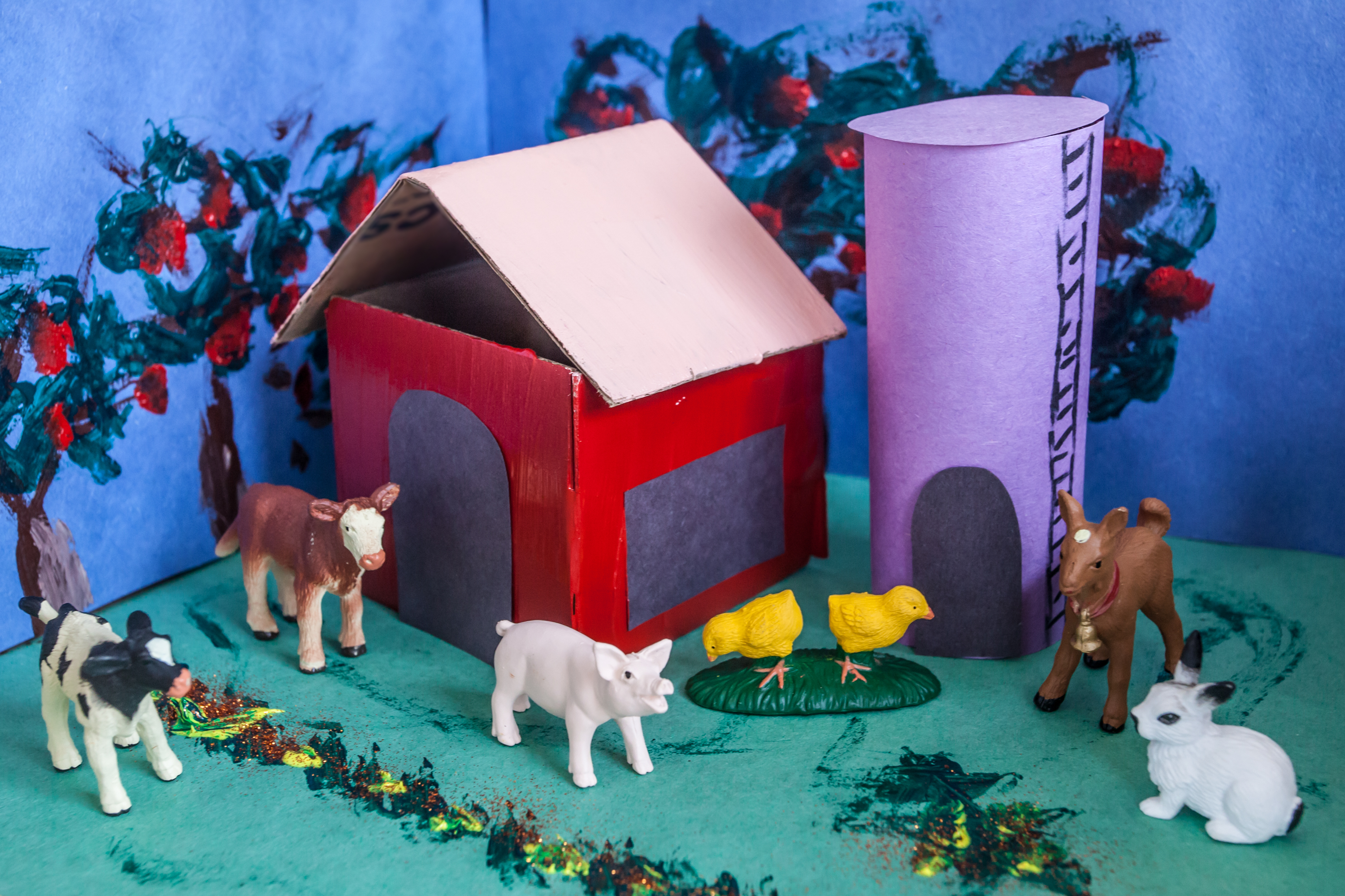 How To Build A Farm For School Project
