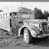 3D Original Further Bus  Ken Kesey & Merry Pranksters 1968