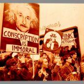 1960s 3D Albert Einstein Anti WAR