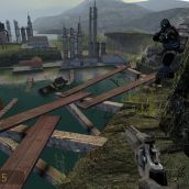 Half-Life 2 the Lost Coast - 3D Vision  (06)