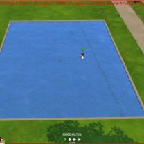 Sims 4 water intransparent