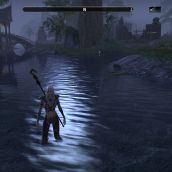 ESO fixed reflections during rain