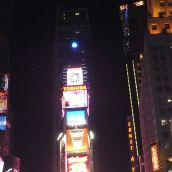 New Years Eve 2011 Times Sqaure Waterford Crystal Ball Rising