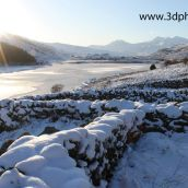 Mount Snowdon in Wales by 3D Phil