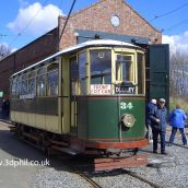 The Old Tram by 3D Phil