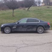 BMW 740d Side View