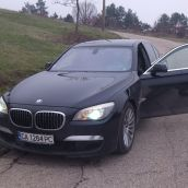 BMW 740d Side Door Open