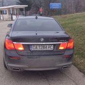 BMW 740d Back
