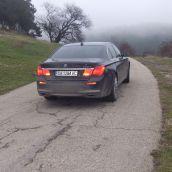 BMW 740d Back Driveby