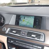 BMW 740d Inside Details
