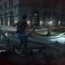 Dead Rising 3 Photo 3. Surveying the crowd, night.