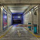 In a basement garage HDR