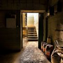 In the basement of a hidden place