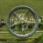 The valve wheel