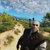Witcher 3 Selfie Stick