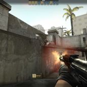 Counter-Strike: Global Offensive - 3D Gunfire