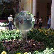 Magic Fountain Glass Sphere