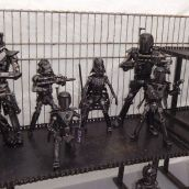 Metal Movie Figures