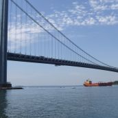 Verrazano Bridge (Brooklyn Side)