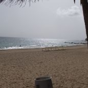 Beach near the Marriot hotel