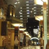 Inside the Luxor in Las Vegas - wonder why I  took this pic ;)