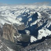 Yosemite Looking East