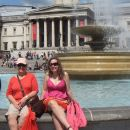 Family photo, Trafalgar Square