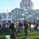 More Bubbles at City Hall Centennial