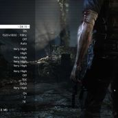 Max Payne 3 - Option Screen with 3D Vision settings