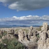 Tufa towers and sage