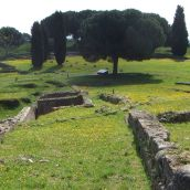Anicent roman City of Aleria / Corse