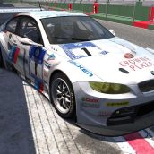 BMW M3 GT2 - Vallelunga race Circuit - Assetto Corsa PC racing game