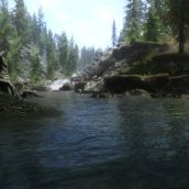 Skyrim - water and daylight