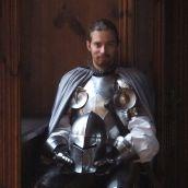 Knight portrait at Bouzov castle
