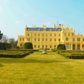 Chateau Lednice - Garden view
