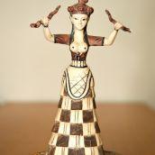 Snake Goddess from Creta