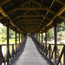 Covered wooden bridge I. Kolarovo