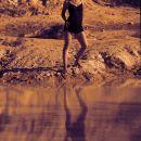 Adele -Sunset on the lake