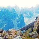 High Tatras Lomnicke Sedlo View