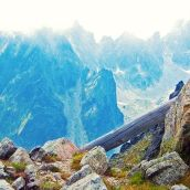 High Tatras Lomnicke Sedlo View