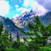 High Tatras, Hrebienok View