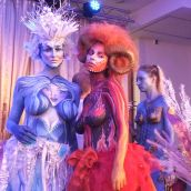 Body painting show nr.3