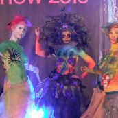 Body painting show nr.1